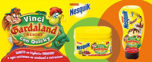 ingresso gratis a Gardaland con Nesquik