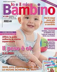 abbonamento gratuito alla rivista Io e il mio Bambino