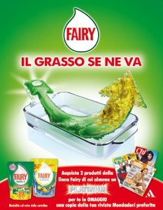 fairy regala una rivista Mondadori