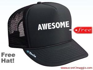 richiedi un cappello gratis