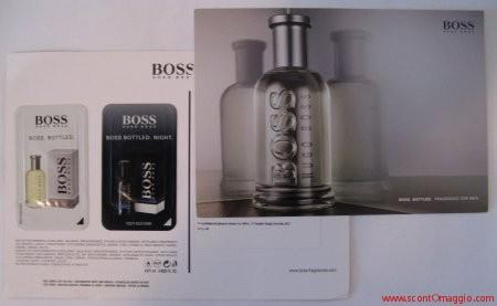 campione gratis fragranza hugo boss