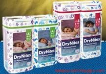 campioni omaggio pannolini drynites