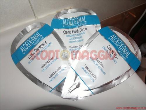 campioni gratuiti creme aloedermal