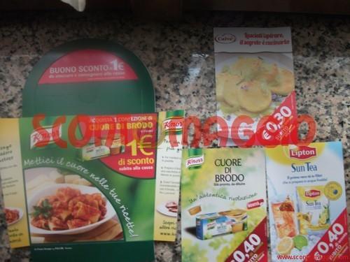 coupon prodotti alimentari