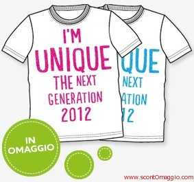 maglietta omaggio United Colors of Benetton