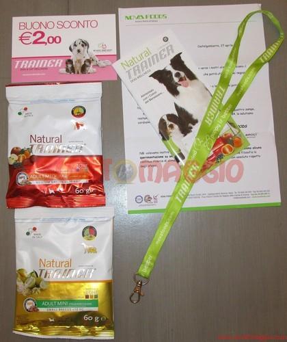 campioni omaggio cibo cani alessandra