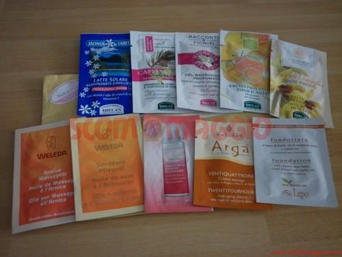 campioni omaggio cosmetici
