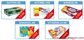 coupon sconti danone