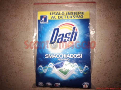 campione gratuito dash smacchiadosi