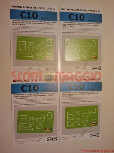 Ritirati 40 Euro In Buoni Sconto Ikea