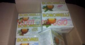 campioni omaggio tisane bonomelli