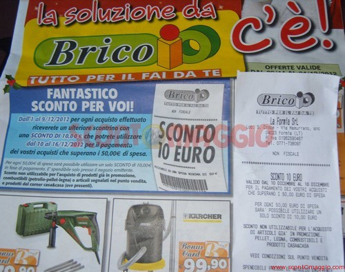 coupon brico io