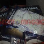 pannolini drynites campione gratuito