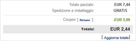acquisto ebay con coupon sconto