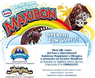maxibon rainbow magicland