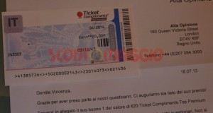 ticket compliments da 20 euro