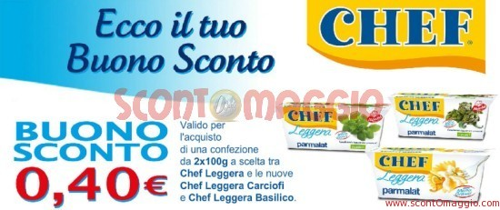 coupon sconto Parmalat Chef
