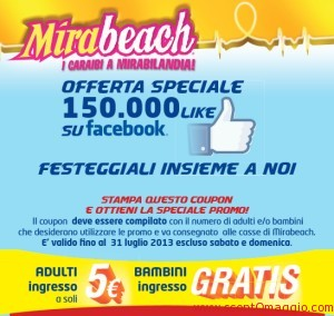 coupon mirabeach