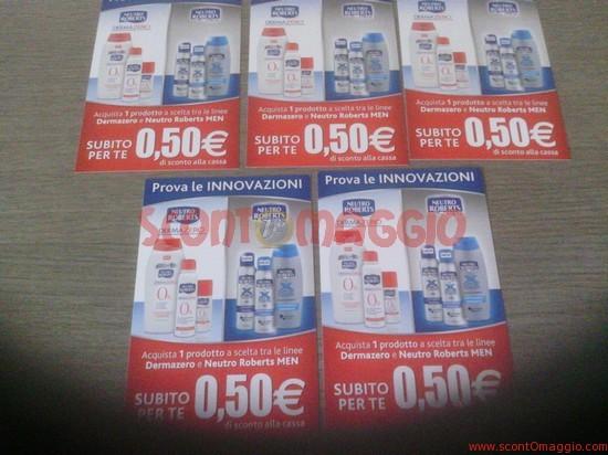 coupon sconto neutro roberts