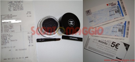ombretto chanel gratis
