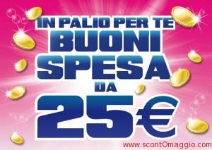 buoni spesa 25 euro