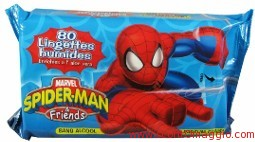 salviette spiderman
