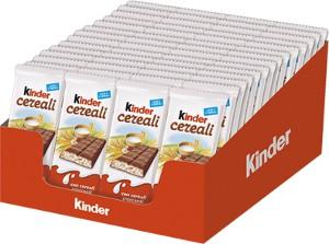 72 kinder cereali