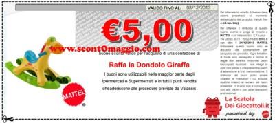 Raffa La Dondolo Giraffa.Nuovi Buoni Sconto Mattel La Scatola Dei Giocattoli Scontomaggio