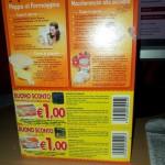 coupon Plasmon da 1 euro