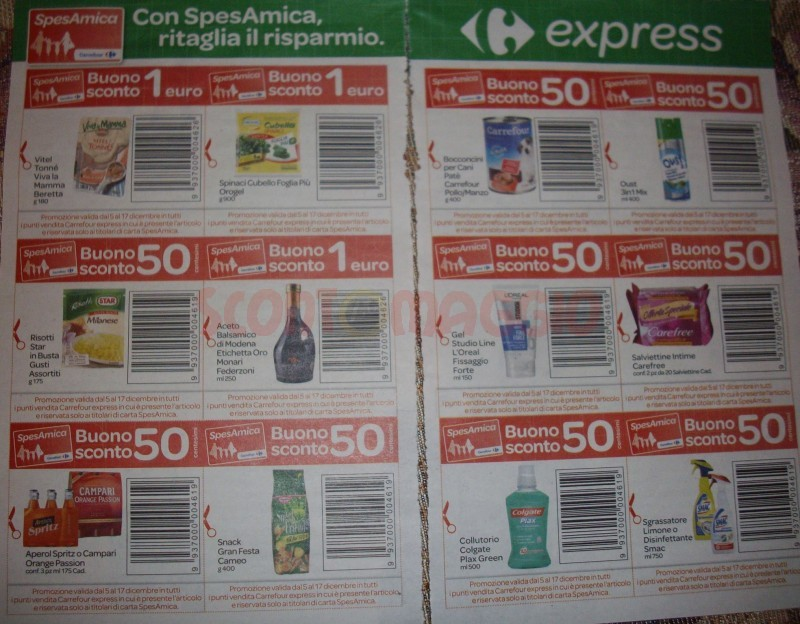 coupon carrefour express