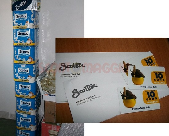 scottex scorta e coupon