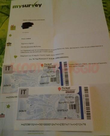 ticket mysurvey
