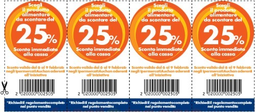 coupon auchan da stampare 2019