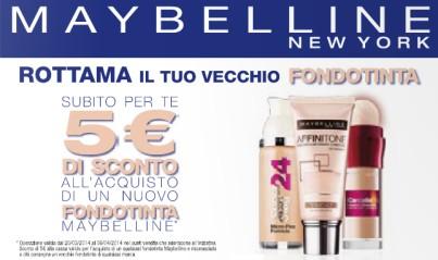 maybelline sconto 5 euro