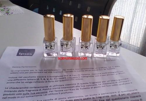 5 nuovi profumi gratis da IPSOS