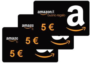 Buono amazon 5 euro mastercard