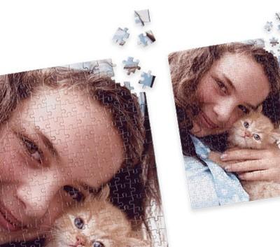 fotopuzzle personalizzato omaggio