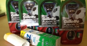 Gillette Fushion Proglide e dentifricio AZ