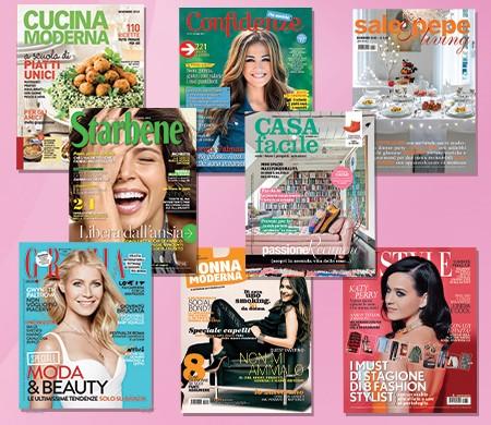 Abbonamento gratuito a riviste mondadori con lactacyd for Abbonamento a cucina moderna