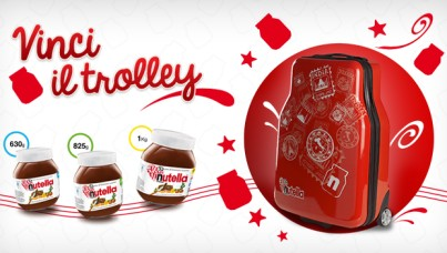 trolley nutella