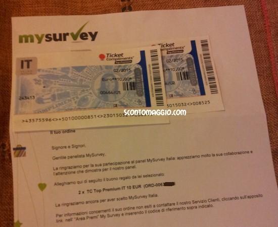 Sondaggi MySurvey: 20 € di guadagno