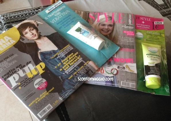omaggi riviste novembre