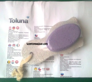 esfoliante piedi con Toluna