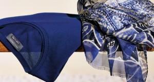 sciarpa di seta Falconeri