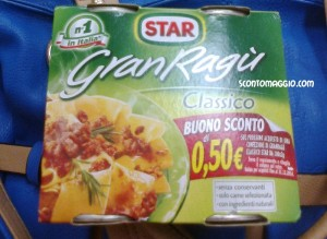 coupon Gran Ragù Star