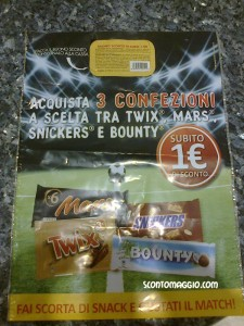 Coupon Twix e Bounty