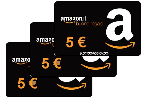 buoni amazon.it da 5 €