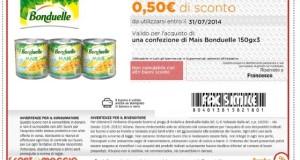 buono sconto Bonduelle da 0,50 €