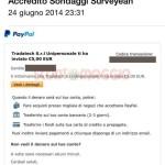 Con i sondaggi Surveyeah guadagni davvero: un pagamento da 5 €