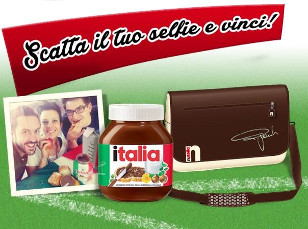 Nutella tifa Italia